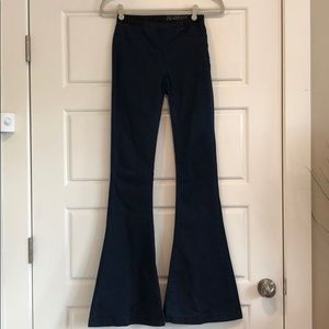 Blank NYC Pull On Flare Jeans